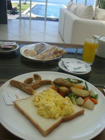 Pandawa Beach Villas & Spa : Breakfast