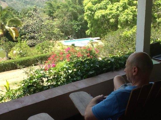 Las Alturas de Puriscal : Blick von der Terrasse