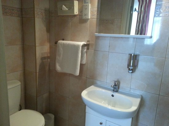 Comfort Inn London - Edgware Road : Bathroom
