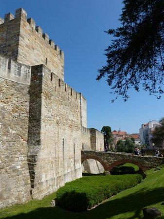 Castelo de Sao Jorge : Castle main entrance