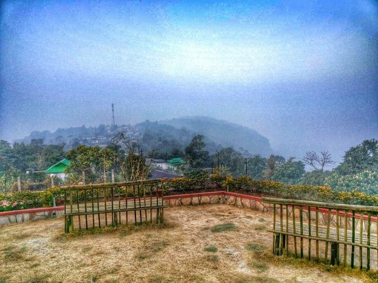 Cherrapunjee Holiday Resort: View from our room !