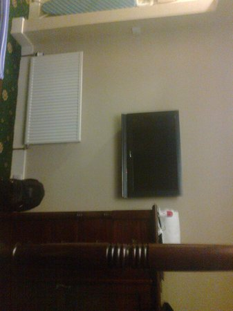 Loch Kinord Hotel: TV in Bedroom