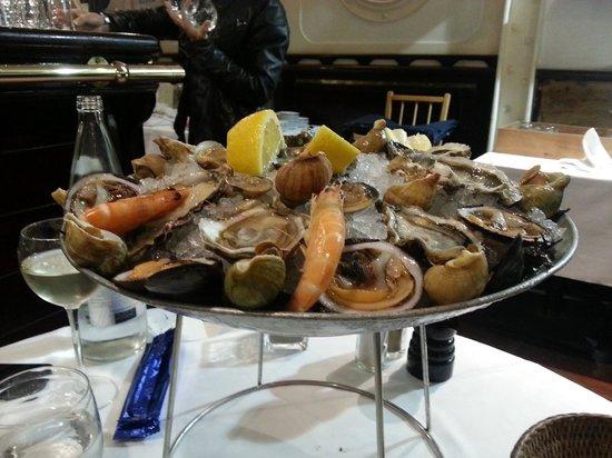 L'Oursin : l'assiette découverte (pour deux)