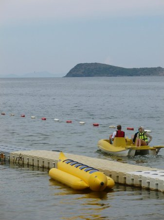 Grand Park Bodrum: Free waterpedalo and kajak