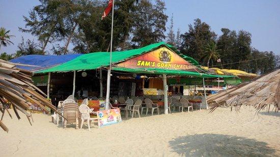 Sam's Goan Beach Shack: The shack