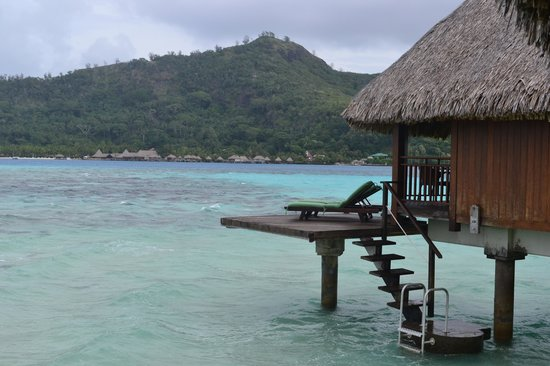 Sofitel Bora Bora Private Island : Direct water access