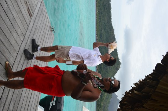 Sofitel Bora Bora Private Island : A grear farewell