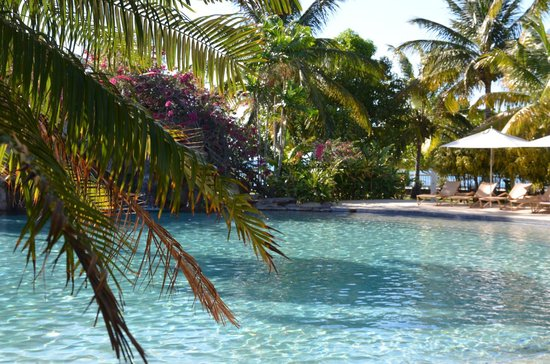 Radisson Grenada Beach Resort : Pool mit Wasserfall