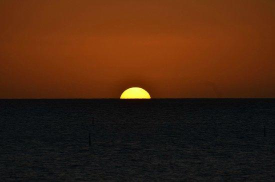 Radisson Grenada Beach Resort: Traumhafte Sonnenuntergänge