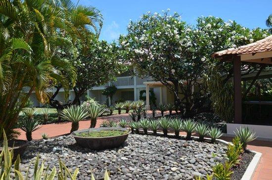 Radisson Grenada Beach Resort: Der wunderschöne Garten