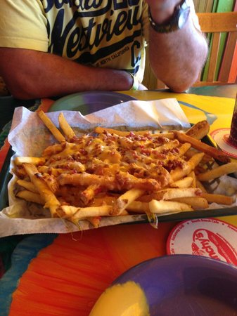 Frenchy's Rockaway Grill: Just a few Cheese Fries
