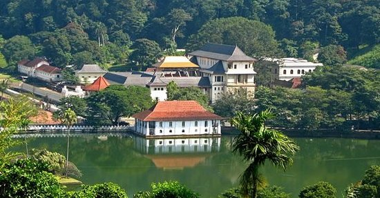 Peradeniya, Sri Lanka: The Temple of the Tooth