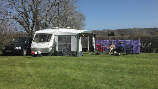 Woodlands Camping and Caravan Park: Space to enjoy