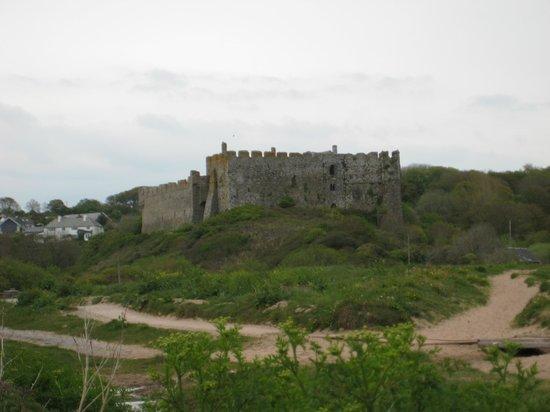 Manorbier Castle: le château