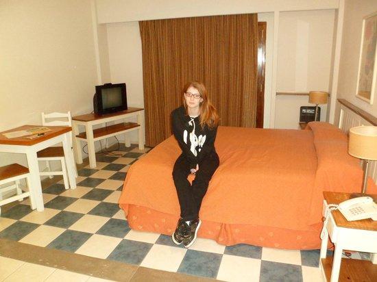 Green Sea Apart Hotel: monoambiente ideal para dos.