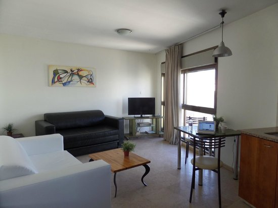 2. My rental apartment at Dizengoff Beach Apartments, Tel Aviv.