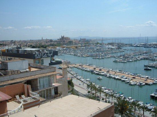 TRYP Palma Bellver Hotel: View from room 1212
