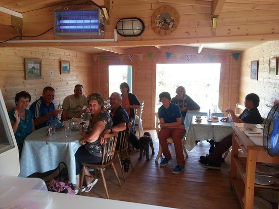 Green Pig Farm Tea Rooms: inside  green pig farm