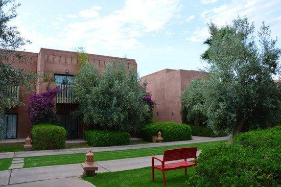 Kenzi Club Agdal Medina: Vue à la sortie des chambres