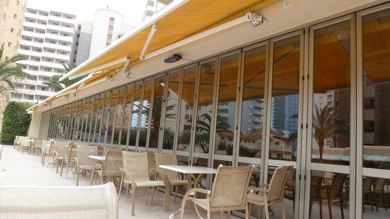 Hotel RH Princesa & Spa: veranda above pool