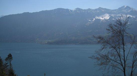 St. Beatus Hoehlen: Impresionantes vistas al lago de Thun