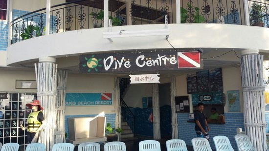 Redang beach resort dive centre