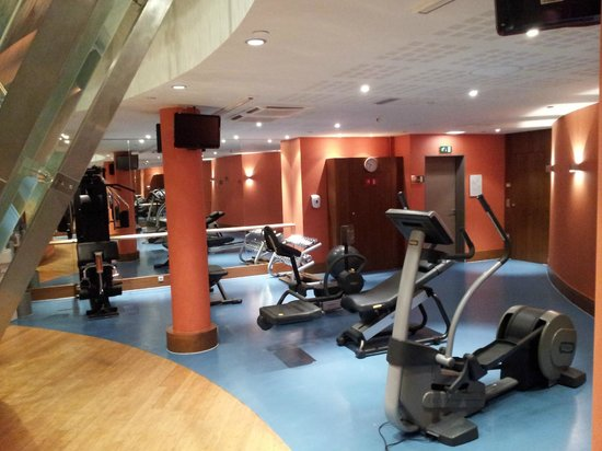 Sofitel Brussels Europe : Gut ausgestattetes Fitness-Center