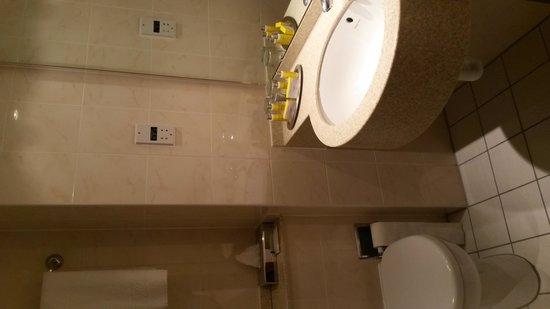 Heathrow/Windsor Marriott Hotel : bathroom