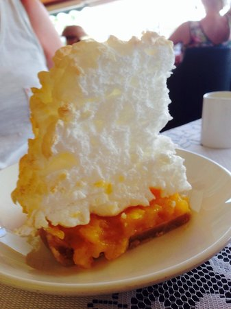 Colonial : Lemon meringue pie