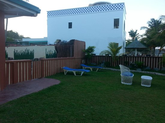 Badladz Beach Resort: backyard