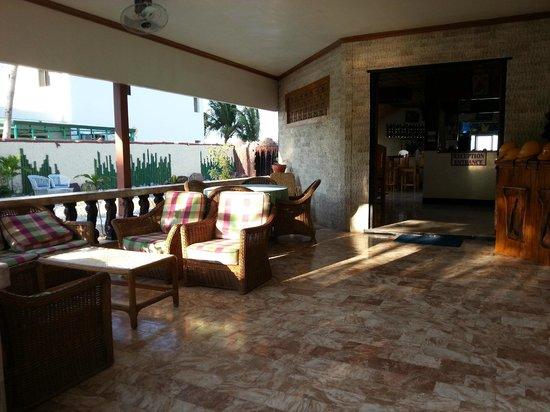 Badladz Beach Resort: lounge