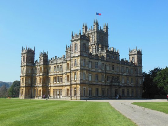 Highclere Castle - view on approach