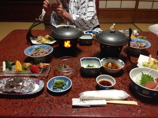 Yudanaka Seifuso : Dinner at the Onsen