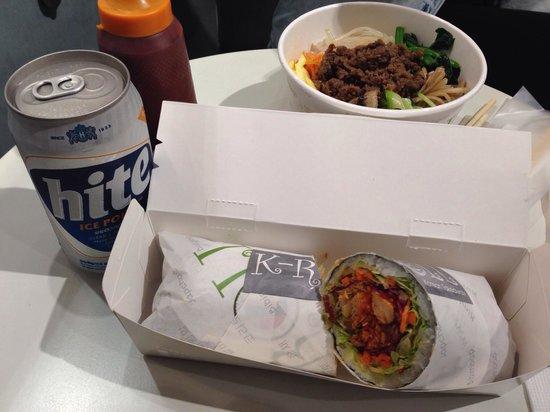 K-Roll: Korrito and Bibimbap