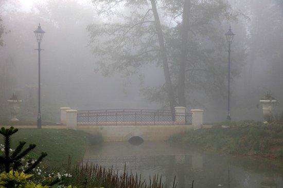Upton Park Hotel: Morning mist