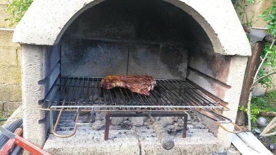 La Casa di Pietra: Possibilità di utilizzo del barbecue