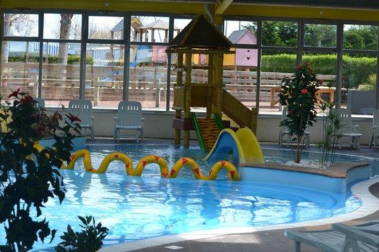 Camping Bel Air: Complexe aquatique couvert et chauffé