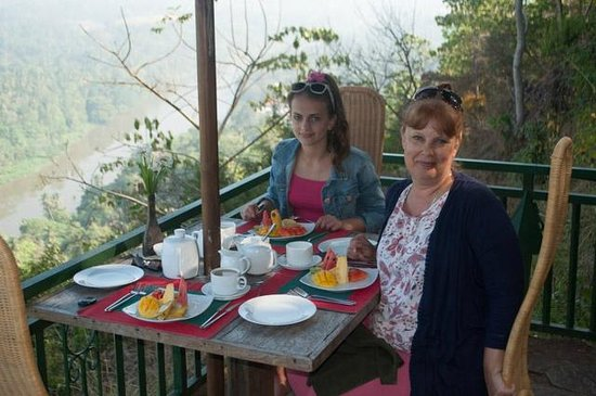 Villa Rosa : Breakfast with a view