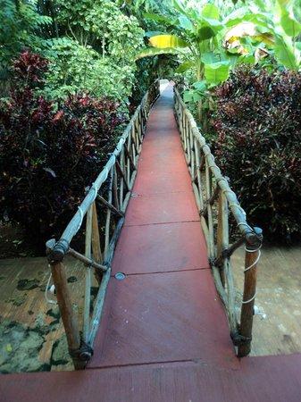 Accesso alla Casa Hamaca Guesthouse