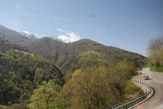 Vigezzina-Centovalli Railway : From train