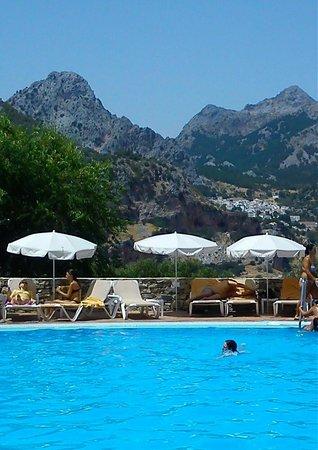 Hotel Fuerte Grazalema: vista desde la habitacion