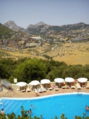 Hotel Fuerte Grazalema: vistas desde el salon