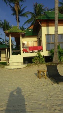 Seetanu Bungalows: directement les pieds dans le sable