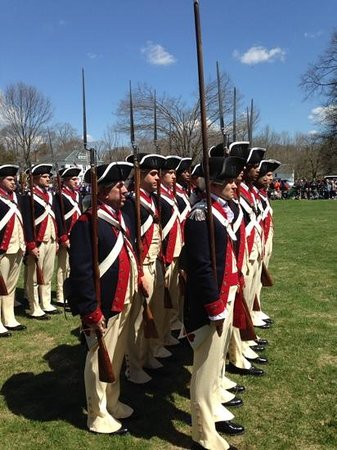 Minute Man National Historical Park : Patriots Day weekend