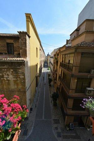 Valencia Mindfulness Retreat: Prachtig uitzicht vanuit ontbijtkamer Valencia Minfdulness Retreat
