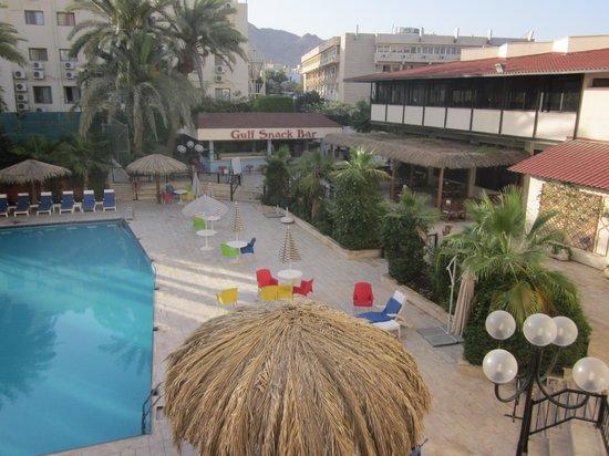 Aqaba Gulf Hotel: The pool