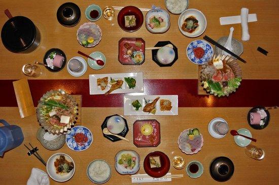 Ryokan Tanabe : Nur ein Wort: wunderbar waren die Nachtessen