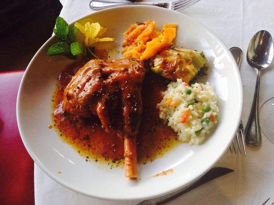Casalinga Ristorante Italiano : Lamb shank