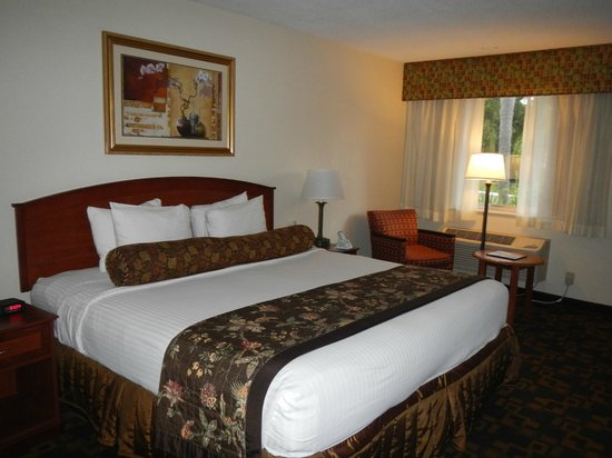 BEST WESTERN Palm Beach Lakes Inn: Room with king size bed