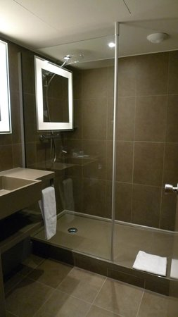Novotel Brussels Grand Place : Wash and shower is separate from the toilet (see other picture)